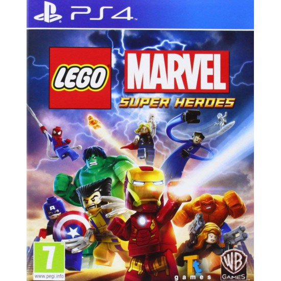 (USED)Lego Marvel Super Heroes Sony PS 4 Game UK(USED)