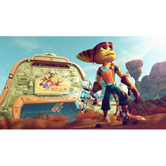(USED)Ratchet & Clank Region2 - PlayStation 4(USED)