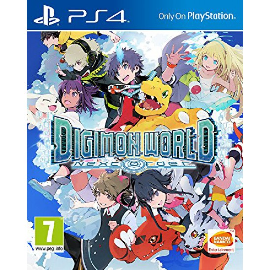 (USED) Digimon World: Next Order (PS4) [UK IMPORT] (USED)