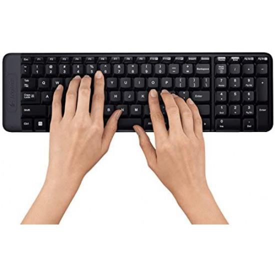 Logitech MK220 Compact Wireless Keyboard and Mouse Combo (ARABIC KEYBORD)