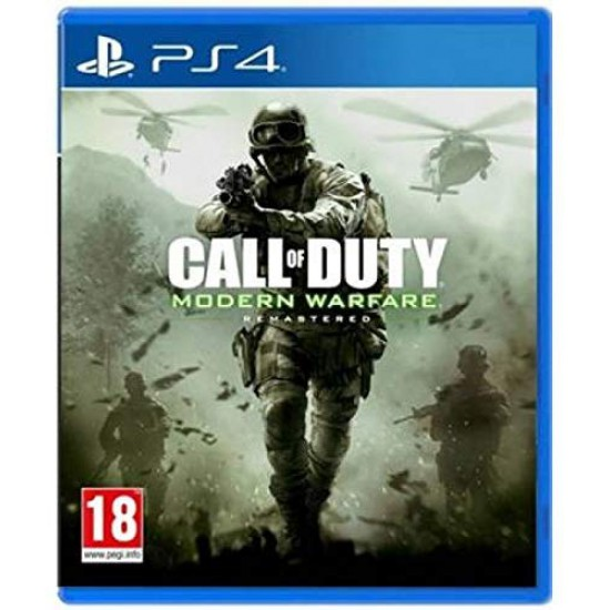(USED) Call of Duty Modern Warfare Remastered (PS4) (USED)