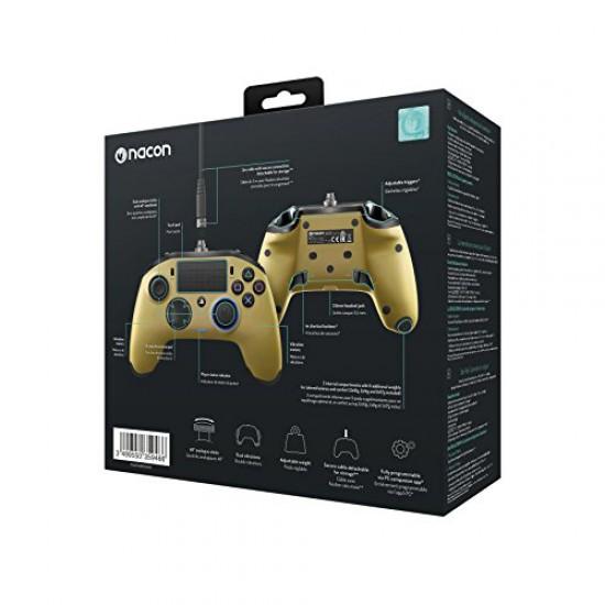 NACON Revolution PRO Controller Gamepad Gold Edition PS4 Playstation 4 eSports Designed