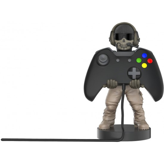 Collectible Call of Duty Ghost Cable Guy Device Holder - works with PlayStation and Xbox controllers and all Smartphones -  Simon Riley - Not Machine Specific