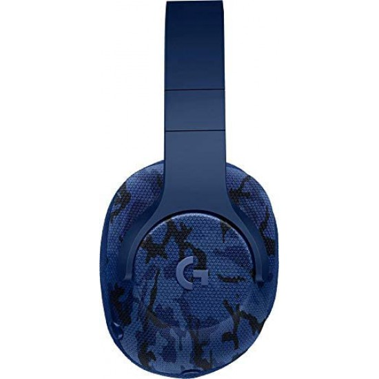 Logitech G433 7.1 Wired Gaming Headset with DTS Headphone: X 7.1 Surround for PC, PS4, Pro, Xbox One, S, Nintendo Switch – Camo Blue