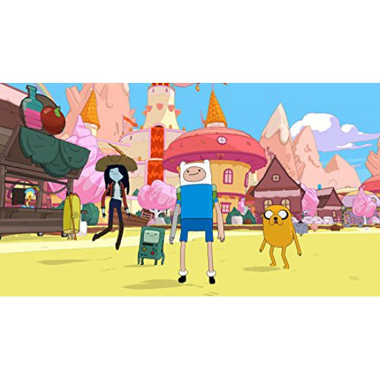 Adventure Time: Pirates of the Enchiridion(Region2) - PlayStation 4