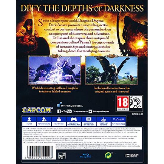 (USED) Dragons Dogma Dark Arisen (PS4) (USED)