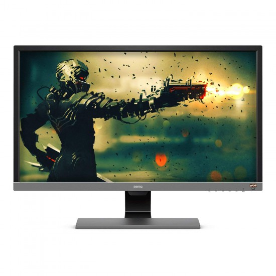 BenQ EL2870U 28 inch 4K HDR Gaming Monitor, 1ms 3840x2160 , Free-Sync Eye-Care, Anti-glare, Brightness Intelligence Plus, HDMI, DP, Built-in Speakers