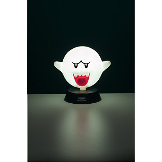 Super Mario 3D Light Boo 10 cm Paladone Products Nintendo Gadgets