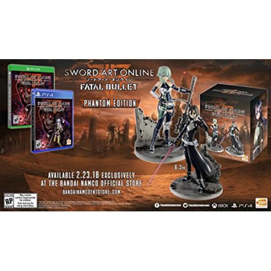 Sword Art Online: Fatal Bullet Phantom Edition (PS4)