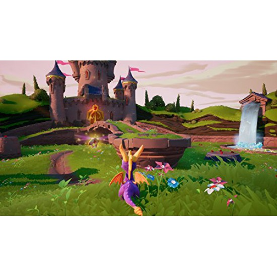 Spyro Reignited Trilogy - PlayStation 4 (Region2) - Arabic&English