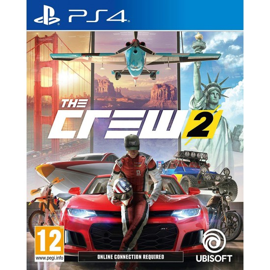 (USED) The Crew 2 (ARABIC&ENGLISH) - PS4 (USED)