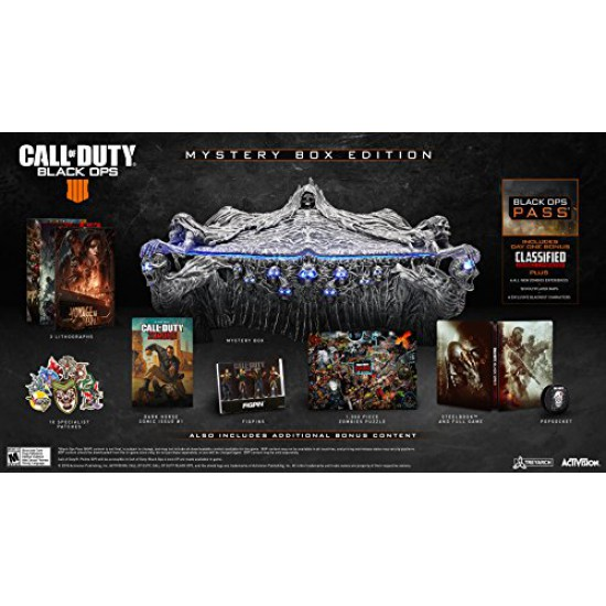 Call of Duty: Black Ops 4 - PS4 Mystery Box Edition