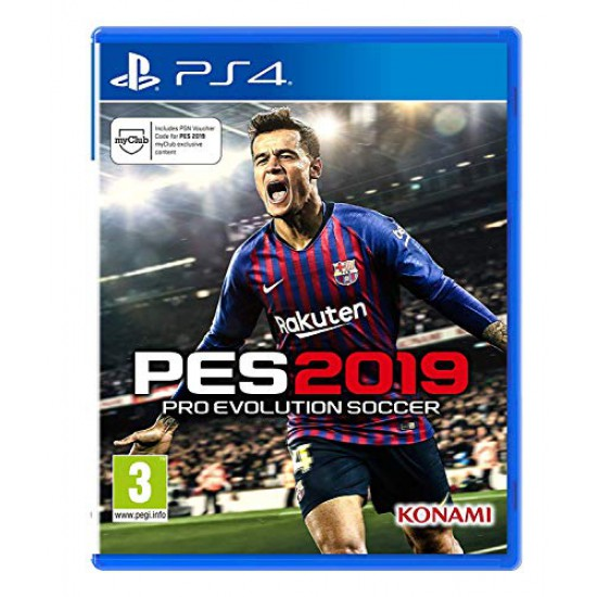 (USED) Pro Evolution Soccer 2019 (PS4) (USED)