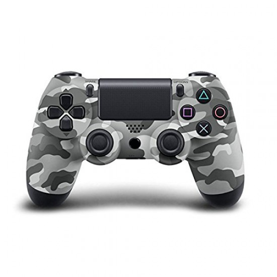 1:1 CLONE Wireless Controller for PS4 Vibration Joystick Gamepad PS4 Game Controller Gray Camouflage