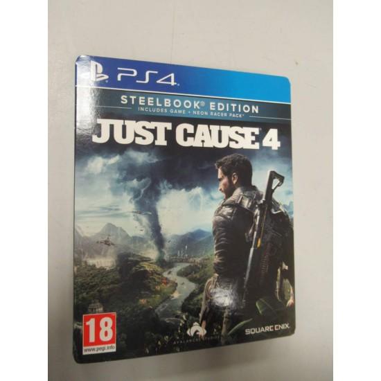 (USED) Just Cause 4 (Steelbook) (PS4) (USED)
