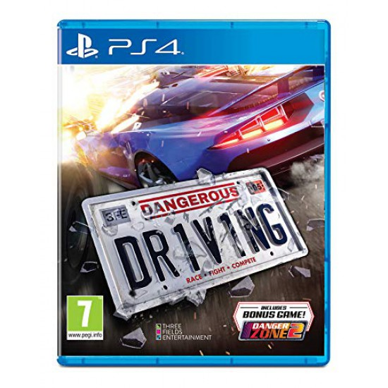 (USED) Dangerous Driving - PlayStation 4 (PS4) (USED)