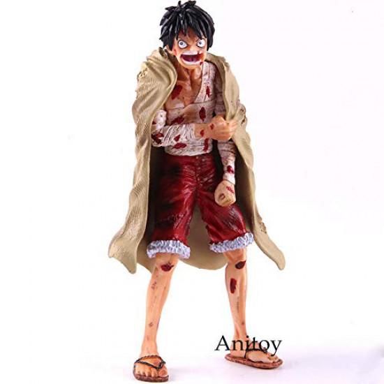 19cm (7.5 inch) One Piece Monkey D Luffy Battle Damage Ver. PVC Action