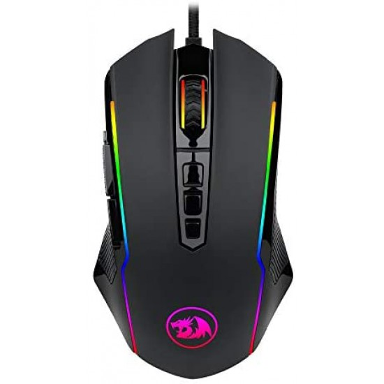M910 Chroma Gaming Mouse, High-Precision Programmable Mouse with RGB Backlight Modes, up to 12400 DPI User Adjustable