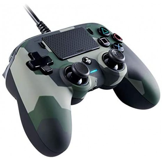 Nacon Compact Camogreen Controller with Cable - Official Sony Playstation Licensed - Playstation 4
