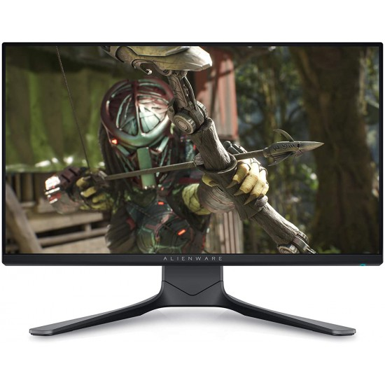 Alienware 25 AW2521HF 24.5 inch Gaming Monitor (Dark) 1ms GtG RT, FHD IPS LED Backlit FHD at 240 Hz Refresh Rate, AMD FreeSync Premium + Nvidia G-SYNC Compatible, Adaptive Sync, 99% sRGB DP/HDMI, USB