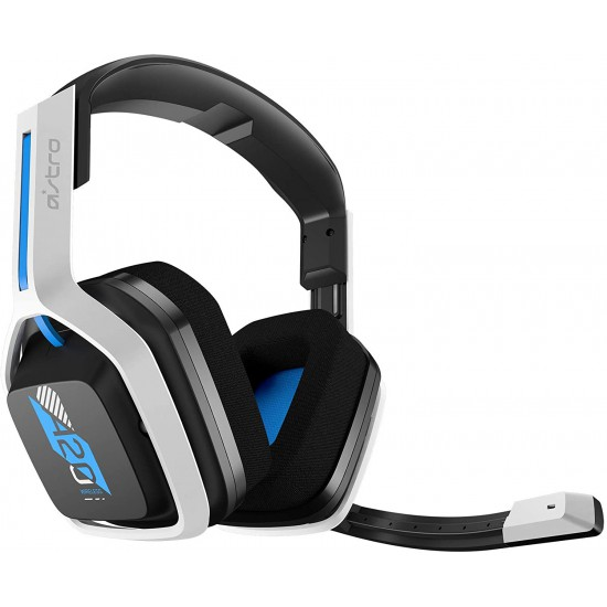 ASTRO Gaming A20 Wireless Headset Gen 2 for PlayStation 5, PlayStation 4, PC & Mac - White/Blue