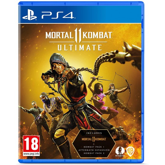 Mortal Kombat 11 Ultimate (PS4) | PS5 UPGRADE AVAILABLE