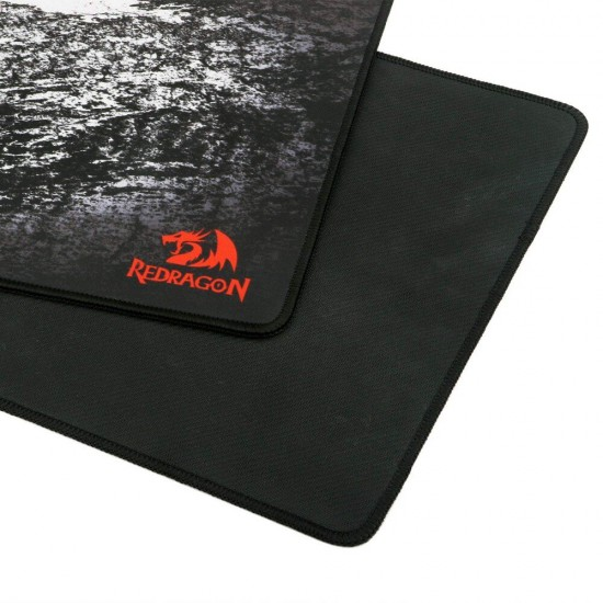 Redragon P018 Gaming Mouse Pad Large Extended Thick Version Stitched Edges Waterproof Pixel-Perfect Accuracy Optimized