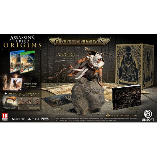 Assassin's Creed Origins Gods Collector's Edition (PS4)