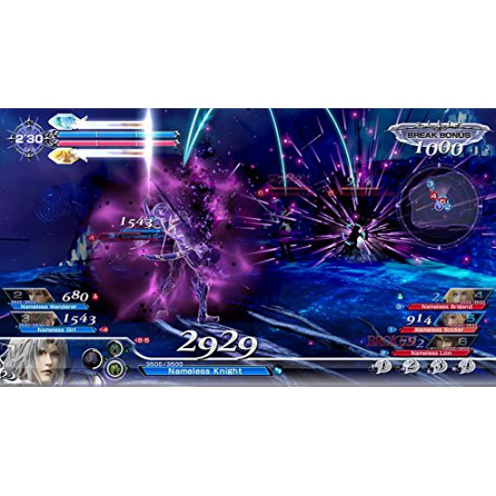 Dissidia Final Fantasy NT (Region2) - PlayStation 4
