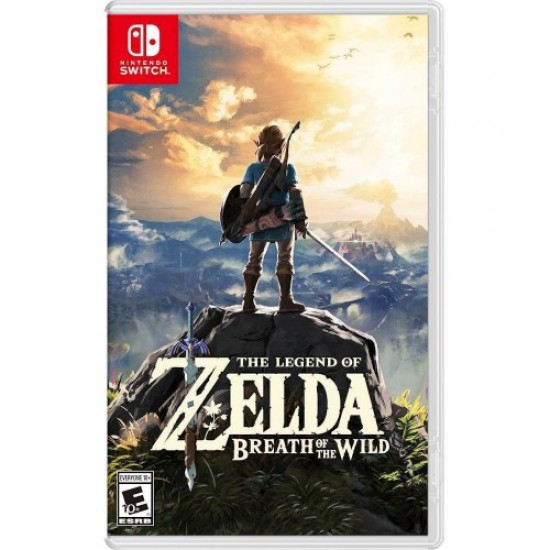 (USED) The Legend of Zelda: Breath of the Wild - Nintendo Switch (USED)