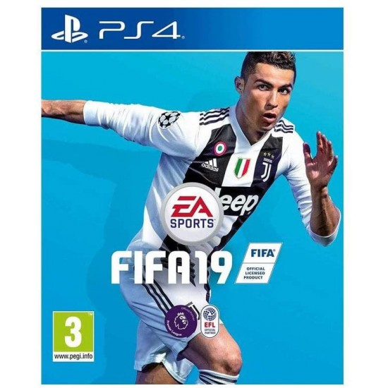 (USED) FIFA 19 - Standard (Arabic & English) Region2 - PlayStation 4 (USED)