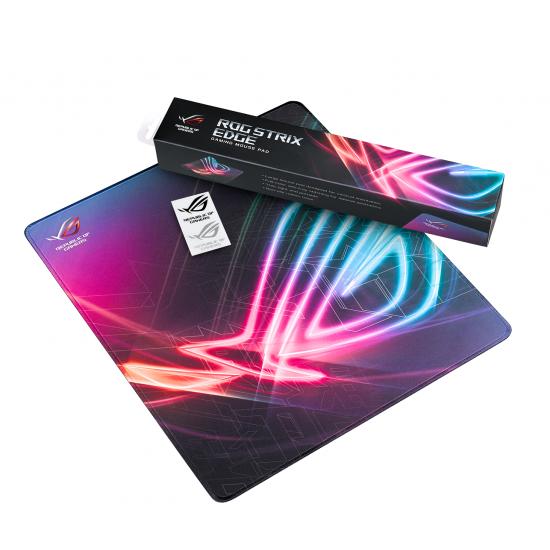 Asus ROG Strix Edge Gaming Mouse Pad (Anti-fray Stitching and Non-slip Base)