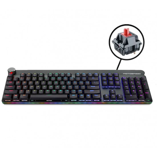 Motospeed GK81 Keyboard - Red Switches