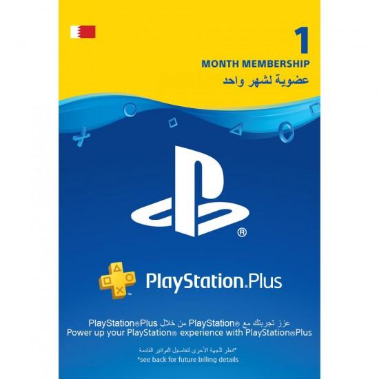 Bahraini PlayStation Plus: 1 Month Membership