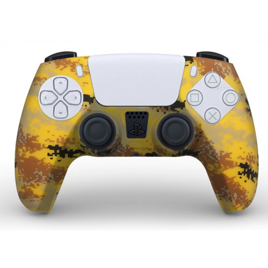 PS5 Silicon Yellow army