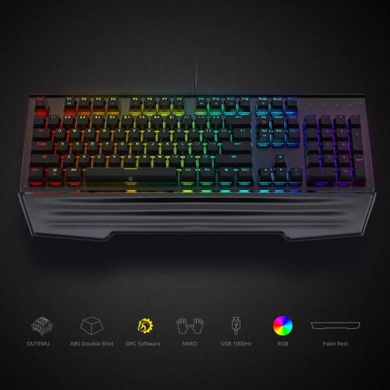 DREVO Durendal 104-Key RGB Mechanical Gaming Keyboard