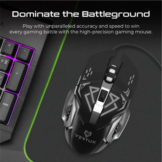 Vertux Gaming Drago Precision Tracking Ergonomic Gaming Mouse