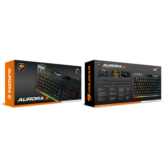 Cougar Aurora S Membrane Gaming Keyboard