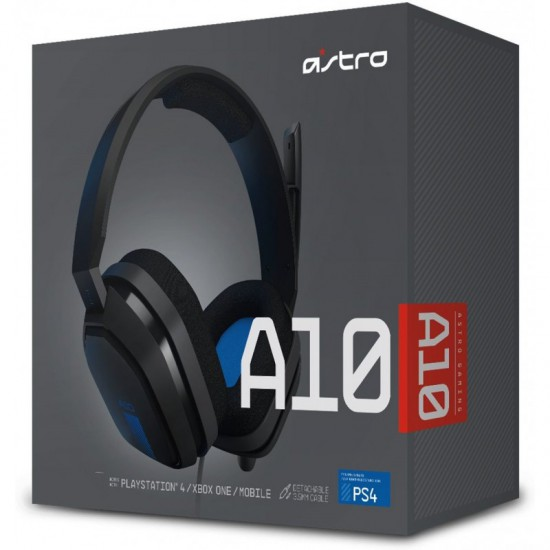 ASTRO Gaming A10 Gaming Headset - Blue/Black