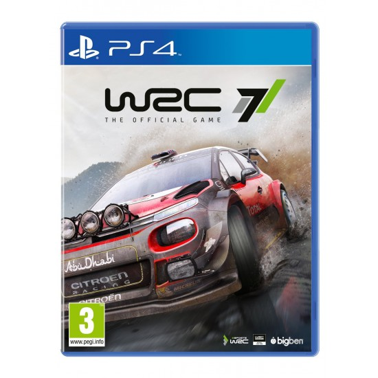 (USED) WRC 7  The Official Game (PS4) (USED)