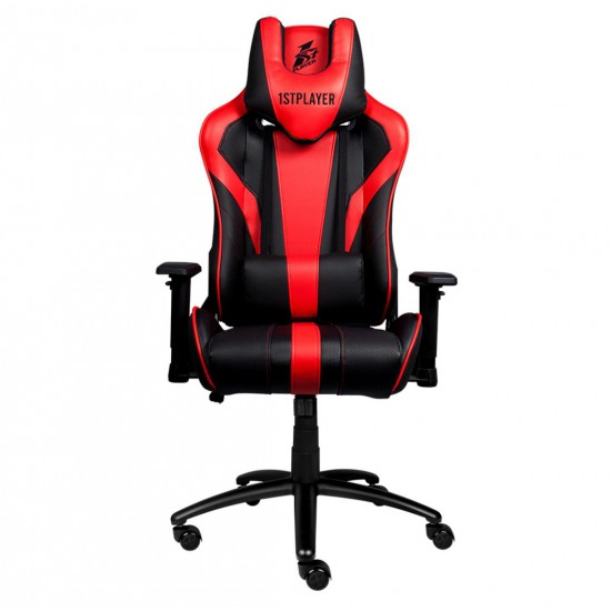 1stPlayer FK1 Gaming Chair, Load Capacity 160kg - Red | FK1 Red