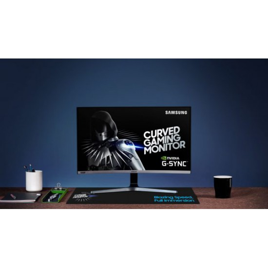 SAMSUNG LC24RG50FQMXUE 24? 144Hz 4ms Gaming Curved Monitor