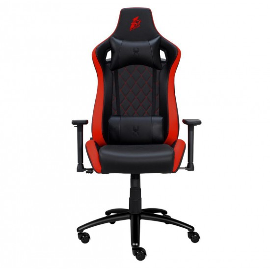 1st Player DK1 Gaming Chair with Pillow and Lumbar Cushion (Load Capacity 160kg)