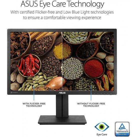 """ASUS PB278QV 27"""" WQHD 2560 x 1440 2K Resolution 75Hz 5ms HDMI DVI-D DisplayPort VGA Adaptive-Sync Support"""