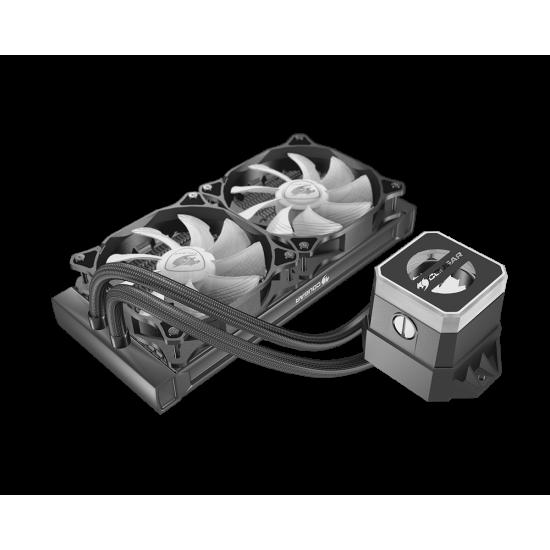 Cougar Helor 240 High-Performance CPU Liquid Cooler