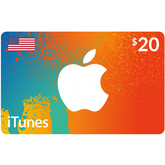 iTunes Gift Card $20 (US)