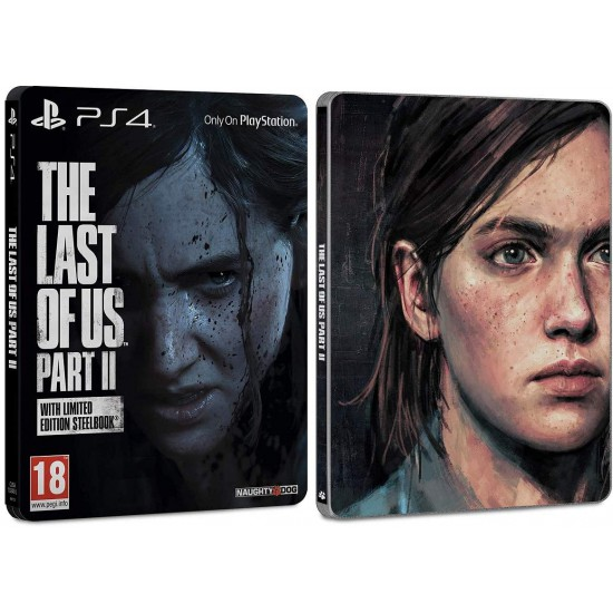 (USED)The Last of us 2 SteelBook Case(USED)