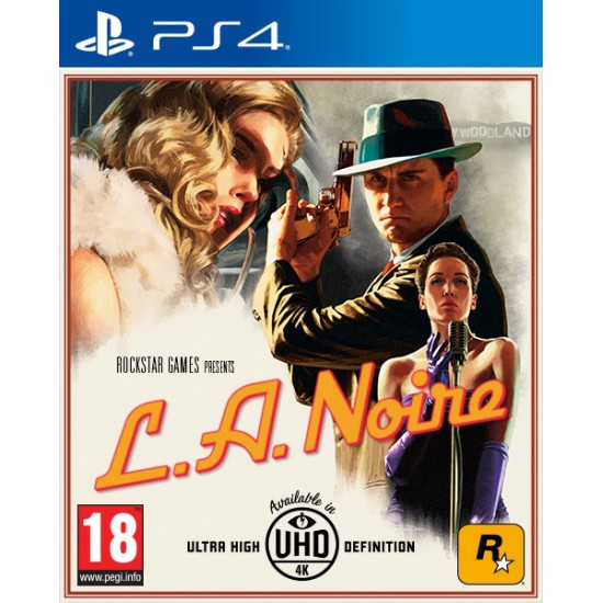 (USED) L.A.NOIRE (Region2) - Ps4 (USED)