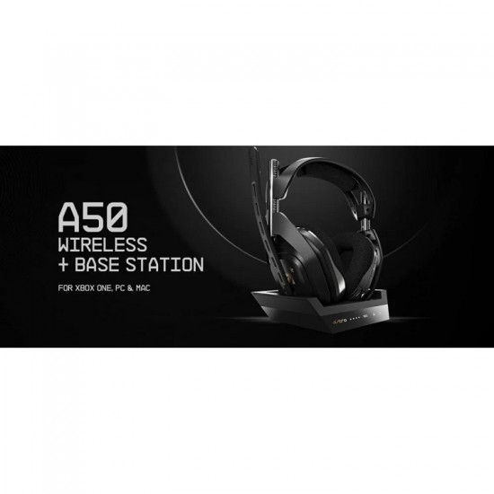 ASTRO Gaming A50 Wireless Dolby Gaming Headset - Xbox One + PC