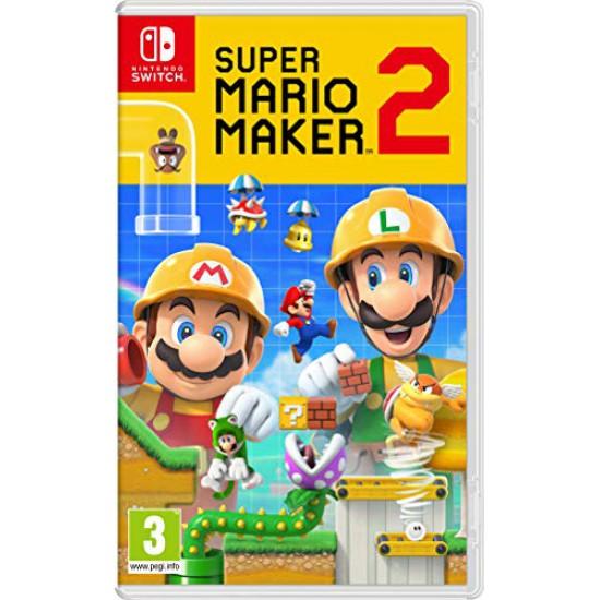 (USED) Super Mario Maker 2 (Nintendo Switch) (USED)